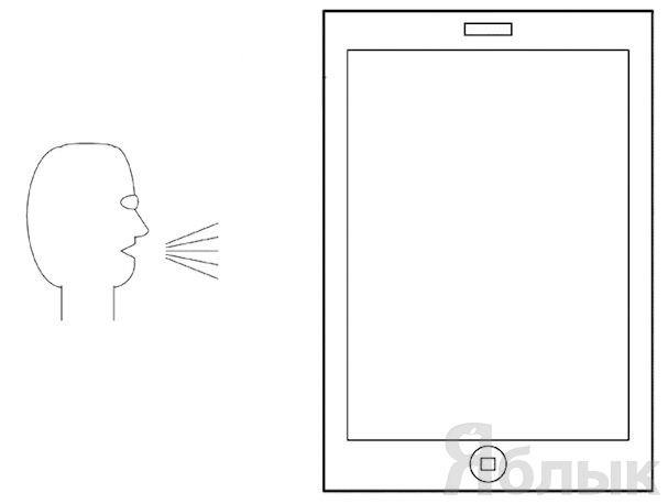 управление iPad с помощью голоса