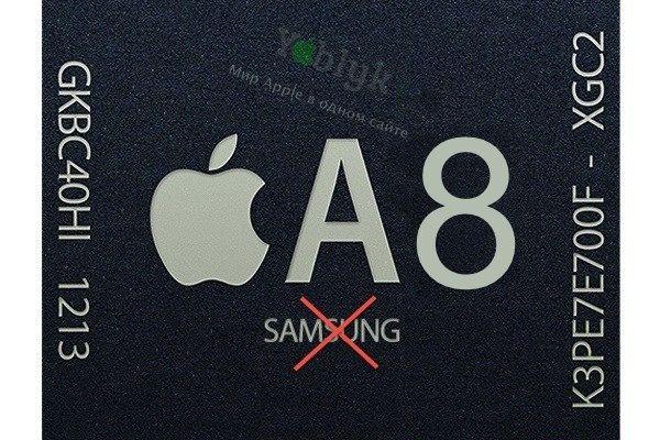 Samsung процессоры для Apple