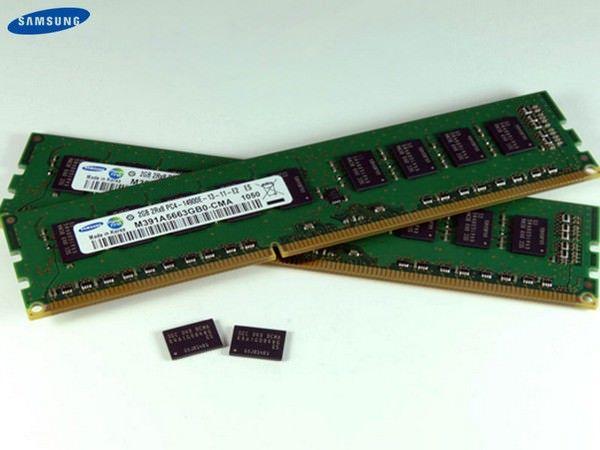 Samsung приступает к производству оперативной памяти DDR 4
