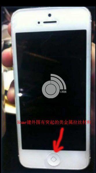кнопка домой на iPhone 5s