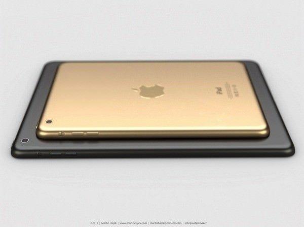 Графитовый iPad 5 и золотой iPad mini 2