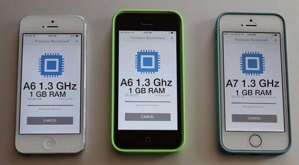 производительность iPhone 5S