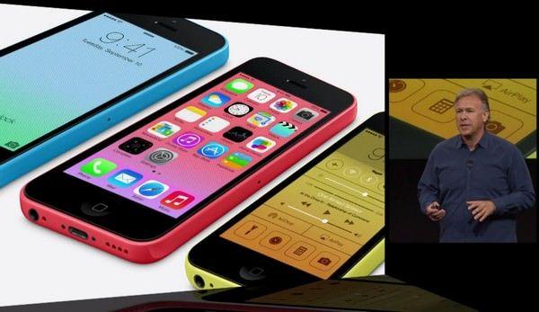 презентация iPHone 5S и iPhone 5C