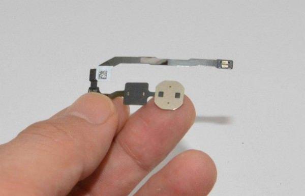 В iFixit исследовали дактилоскопический датчик iPhone 5S
