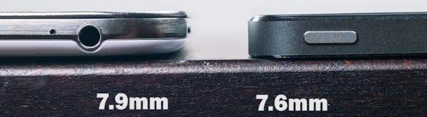 Сравнение iPhone 5S vs Samsung Galaxy S4