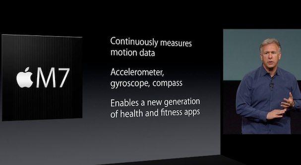 сопроцессор M7 в iPhone 5S