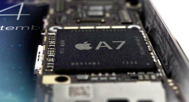 процессор A7 в iPhone 5S