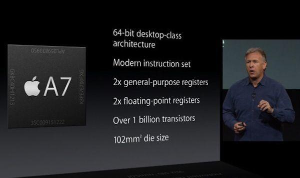 iPhone 5s процессор A7 chip