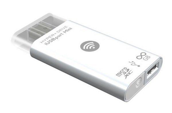 Многофункциональный беспроводной накопитель iUSBport Mini