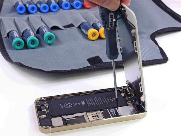 разборка iPhone 5S