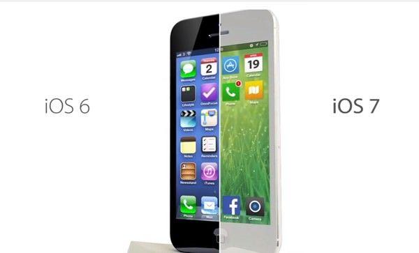 iOS 7 уже превзошла iOS 6