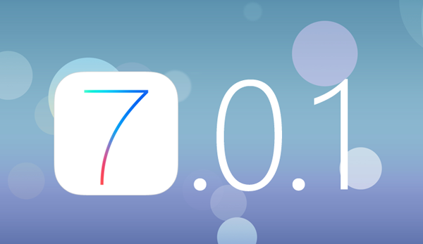 Вышло обновление iOS 7.0.1