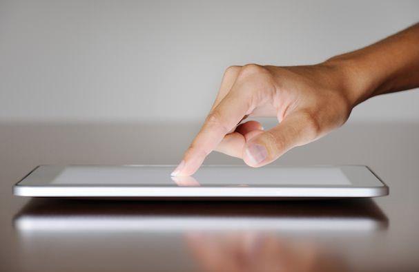 жесты на iPad