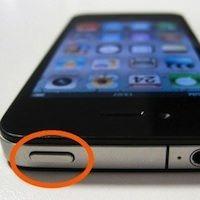 кнопка включения на iPhone 4S