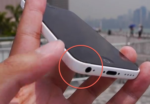 тест на падение iPhone 5c