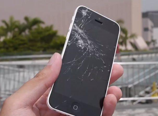 droptest iPhone 5c