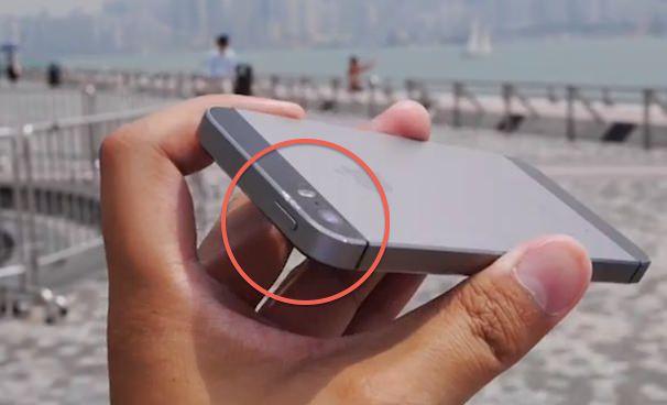 дроп тест iPhone 5s