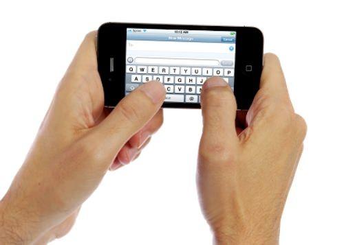 клавиатура iPhone жесты