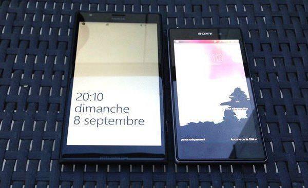 Первые фотографии планшетофона Nokia Bandit