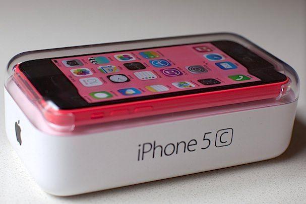 упаковка iPhone 5c коробка