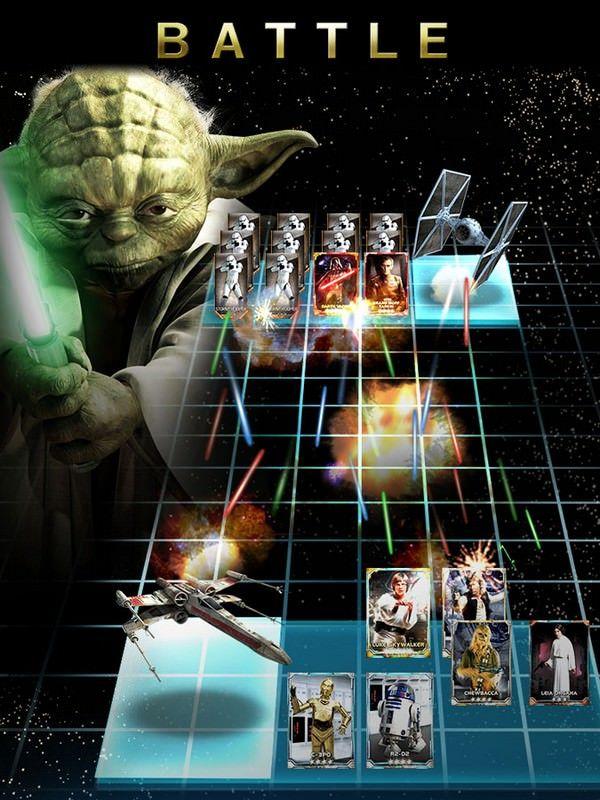 Игра Star Wars Force Collection от Konami уже в App Store