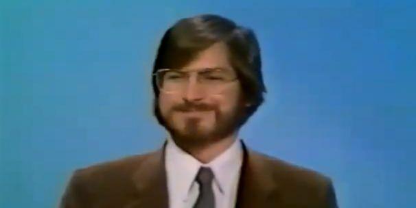 Первое телевизионное интервью Стива Джобса