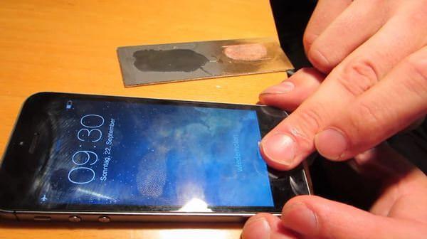 Как взломать Touch ID в iPhone 5S