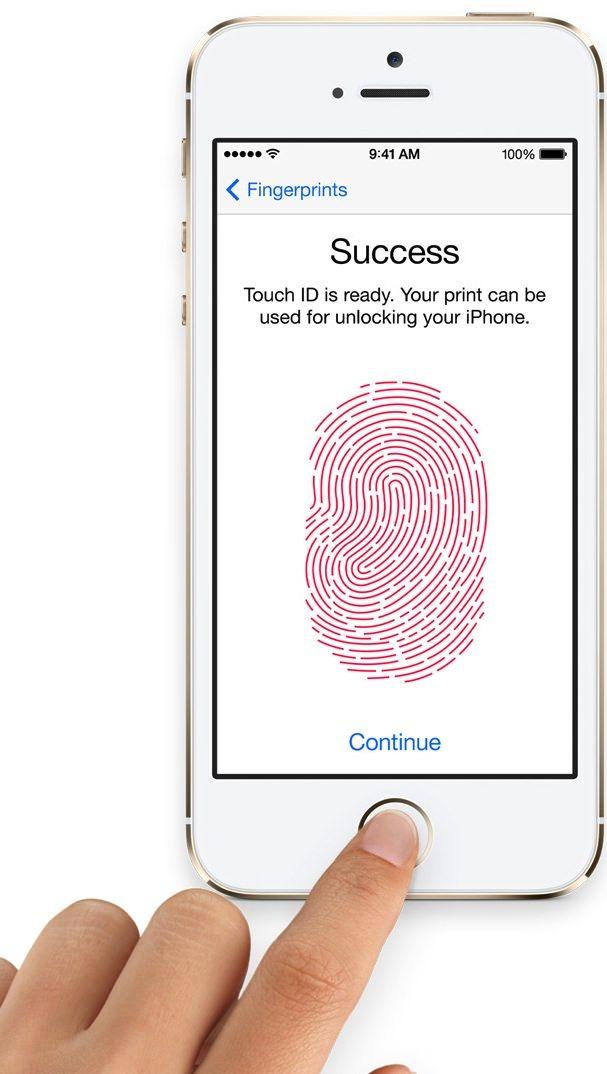 датчик отпечатков пальцев в iphone 5s
