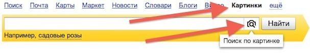 Яндекс Картинки поиск по изображениям
