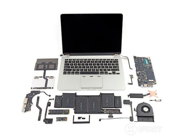 13-дюймовый macbook pro с дисплеем Retina