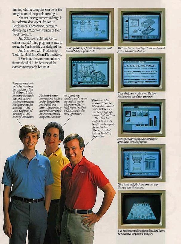 Microsoft DOS против Macintosh