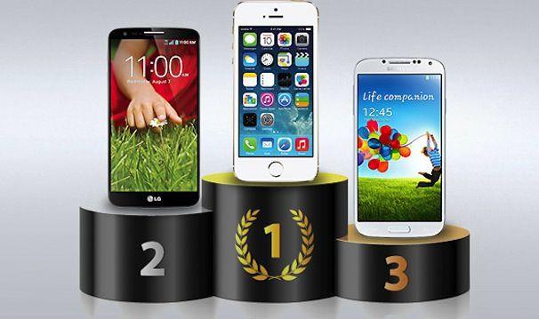 iPhone 5s самый быстрый телефон