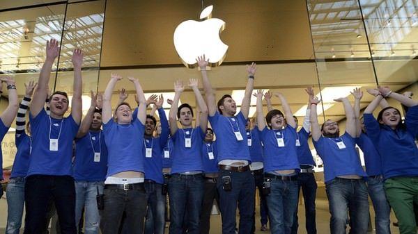 благодарность Apple своим сотрудникам