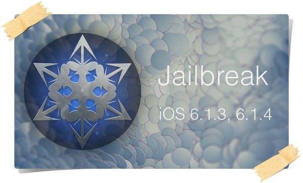 джейлбрейк iOS 6.1.3 - 6.1.4