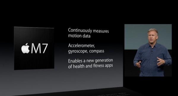 M7 iPhone 5S