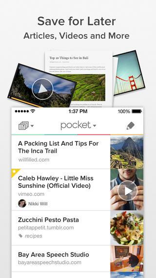 Pocket - For iPhone - iPod 1 - iPad