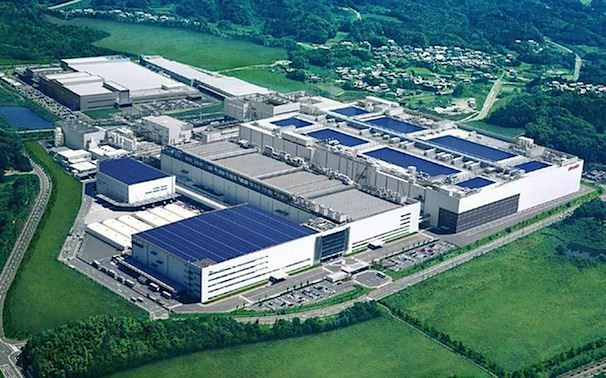 Завод Sharp по производству IGZO