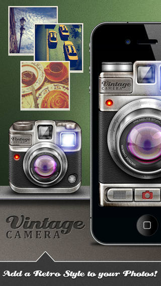 Vintage Camera - For iPhone - iPod - iPad