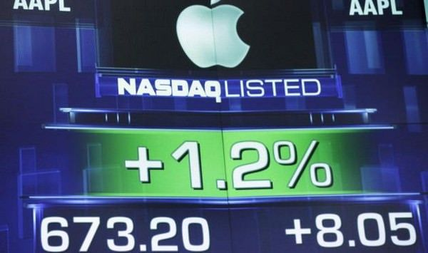 роста акций Apple