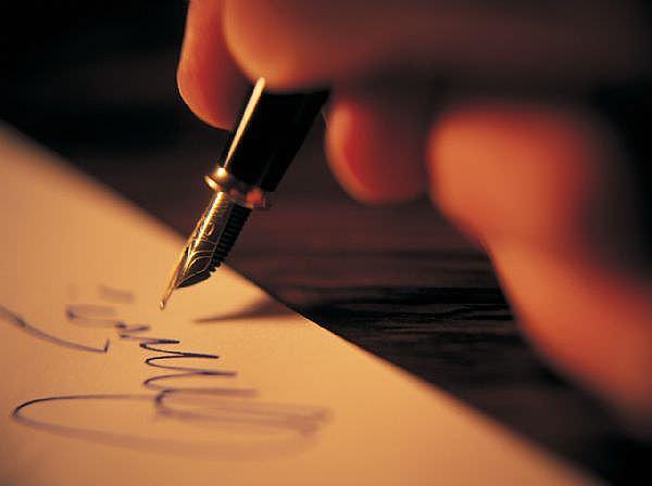 Настоящие бумажные письма