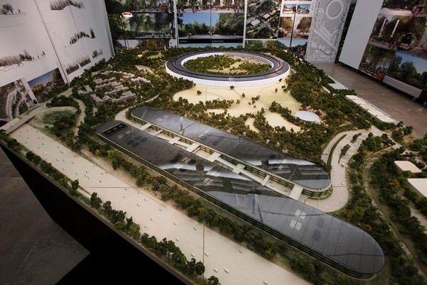 строительство нового кампуса Apple