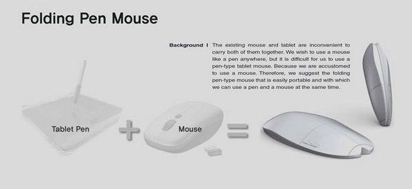 Folding Pen Mouse