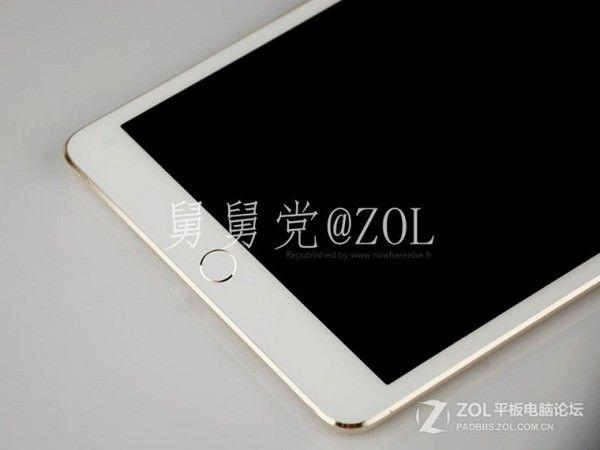 iPad mini 2 в золотом корпусе
