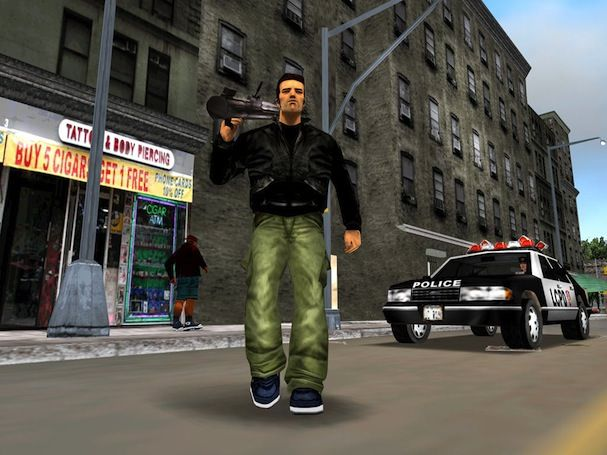 google glass GTA 3 grand theft auto 3