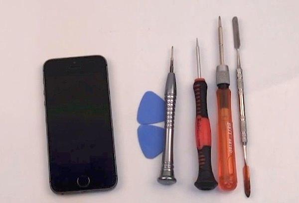 Как заменить экран в iPhone 5S