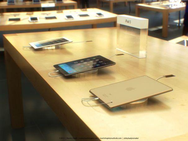 iPad 5 концепт App Store