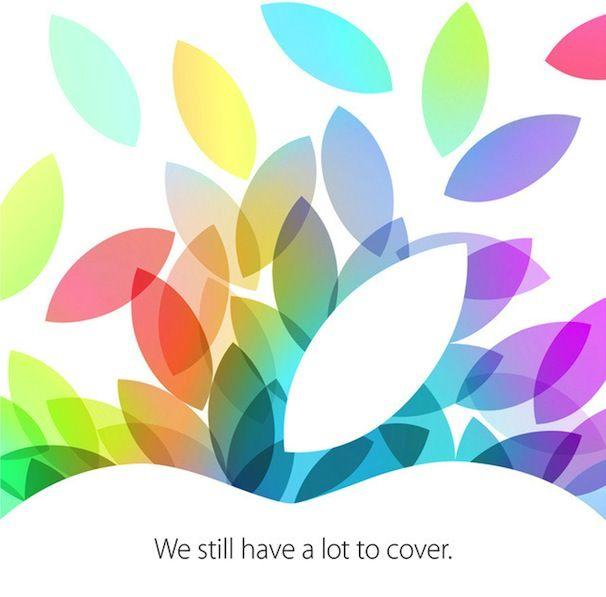приглашение на презентацию iPad 5 и iPad mini 2
