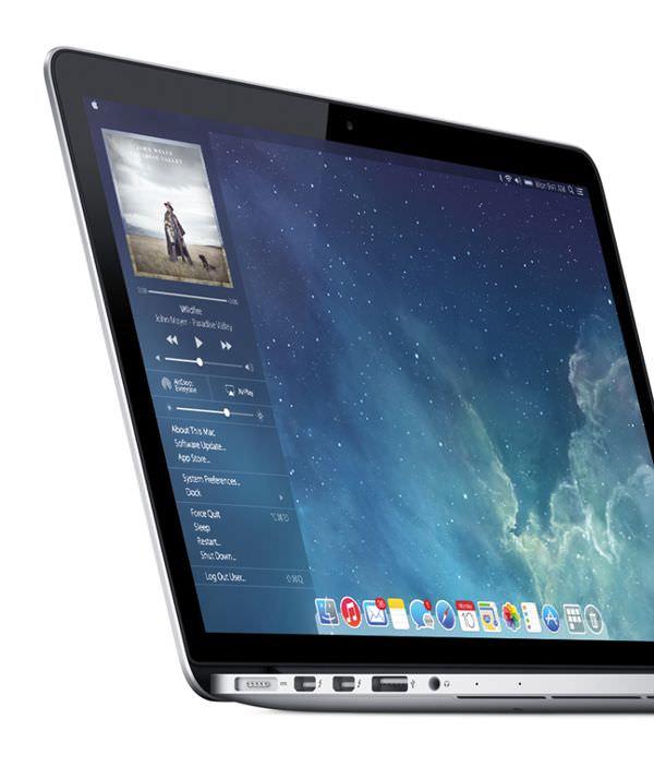 OS X в стиле iOS 7