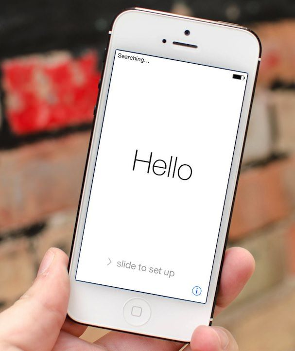 iOS 7 на iPhone 5