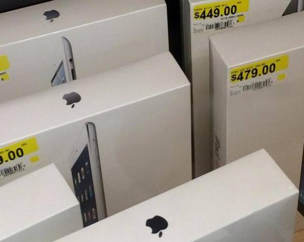 iPad Air начали поставлять в магазины